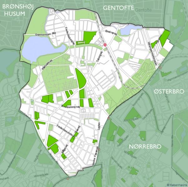 Bispebjerg bydel (kort)