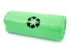 Affaldsposer (bio) i grøn.