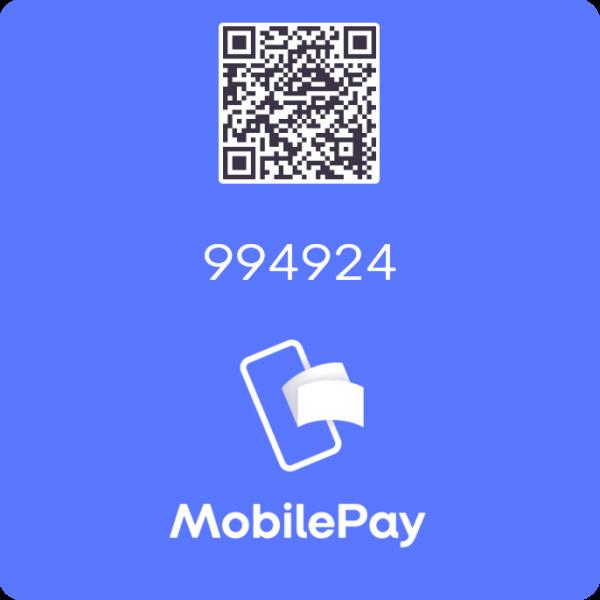 Bispeparkens Bestyrelse MobilePay MyShop-nummer: 994924