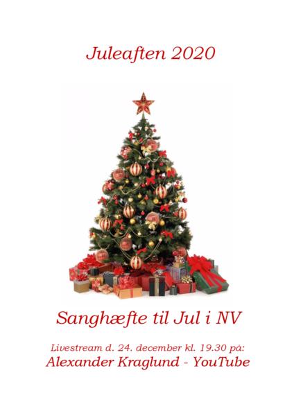 Sanghæfte til Jul i NV - Juleaften 2020